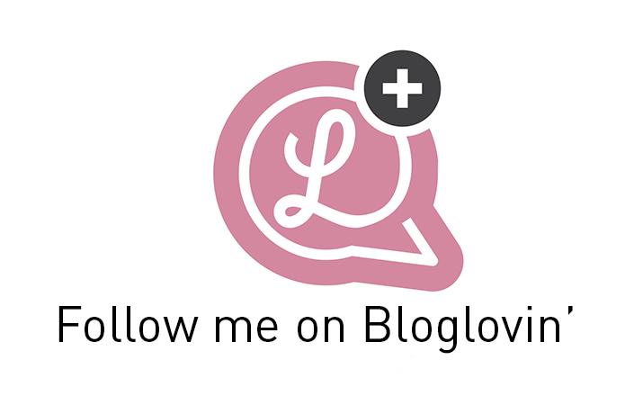 Bloglovin' button