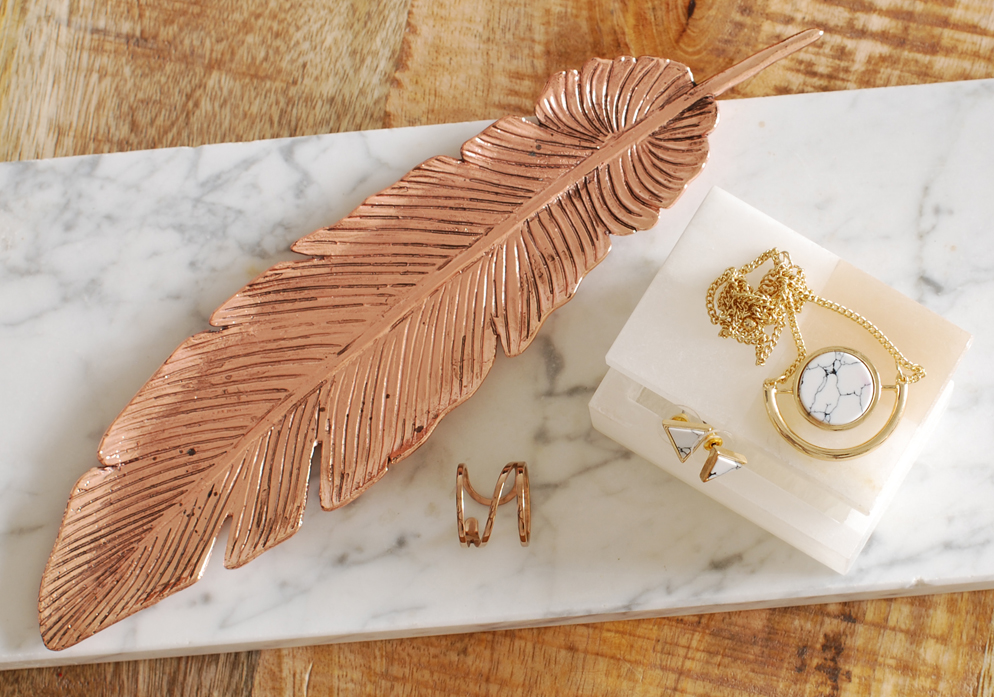 latest obsession rose gold marble lifestyle by linda