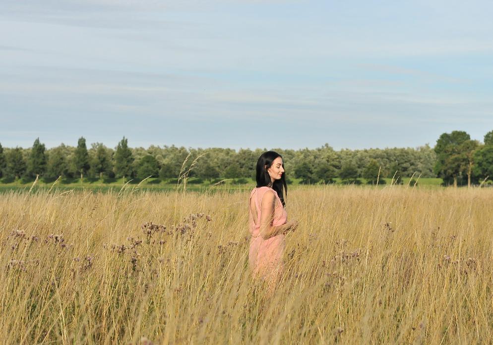 Selected Femme jurk dress lifestyle by linda