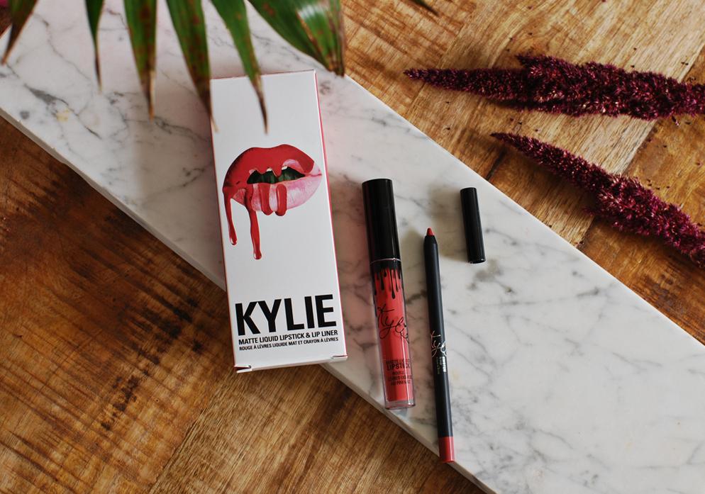 Kylie cosmetics matte liquid lipstick Kristen lip kit