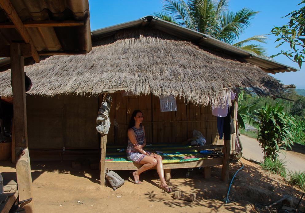 Akha bergstam Akha Hill Tribe Village