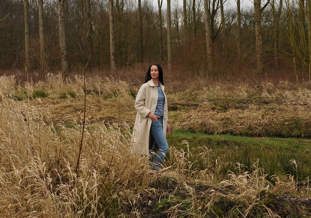 Light as a feather - OOTD Biesbosch