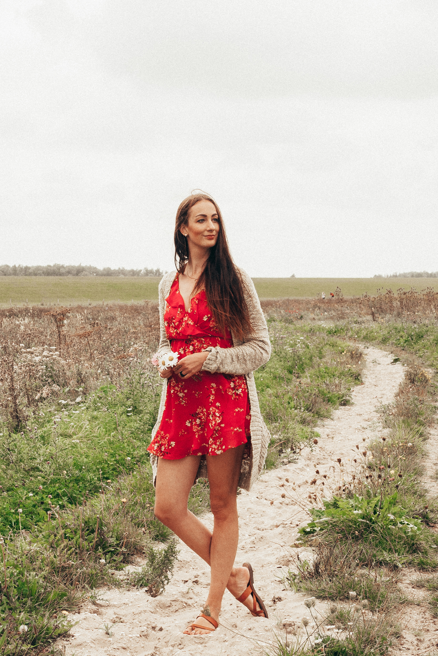 Pre-Fall 2017 How I Style The Red Dress