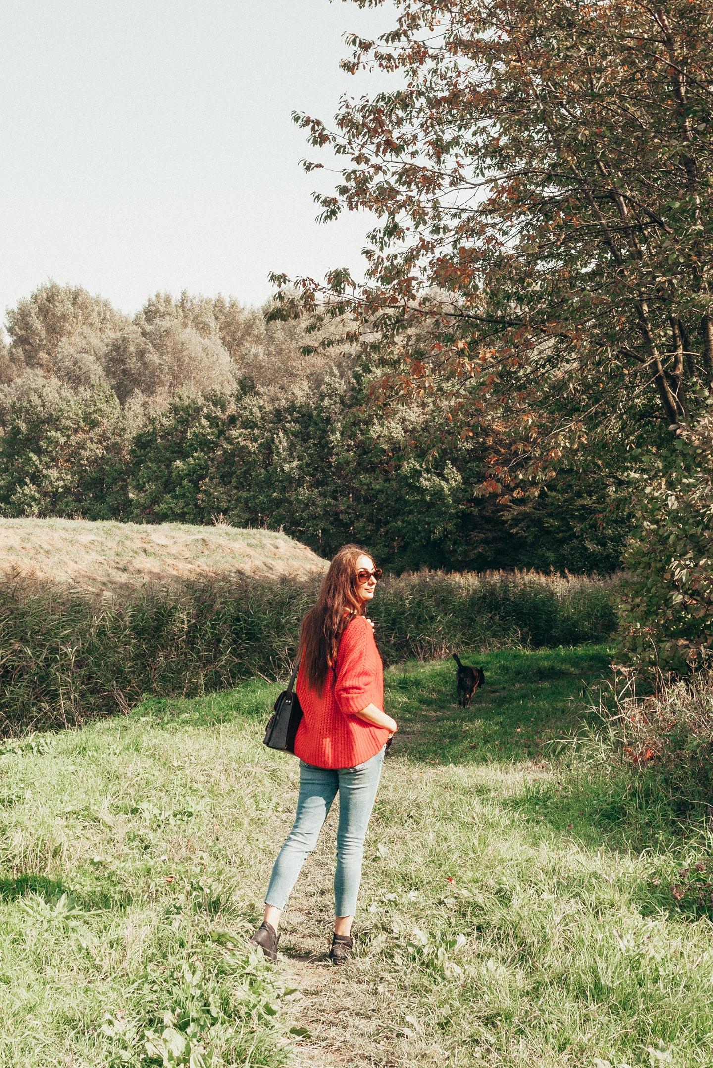 AUTUMN OOTD lifestyle by linda woods alpaca wool