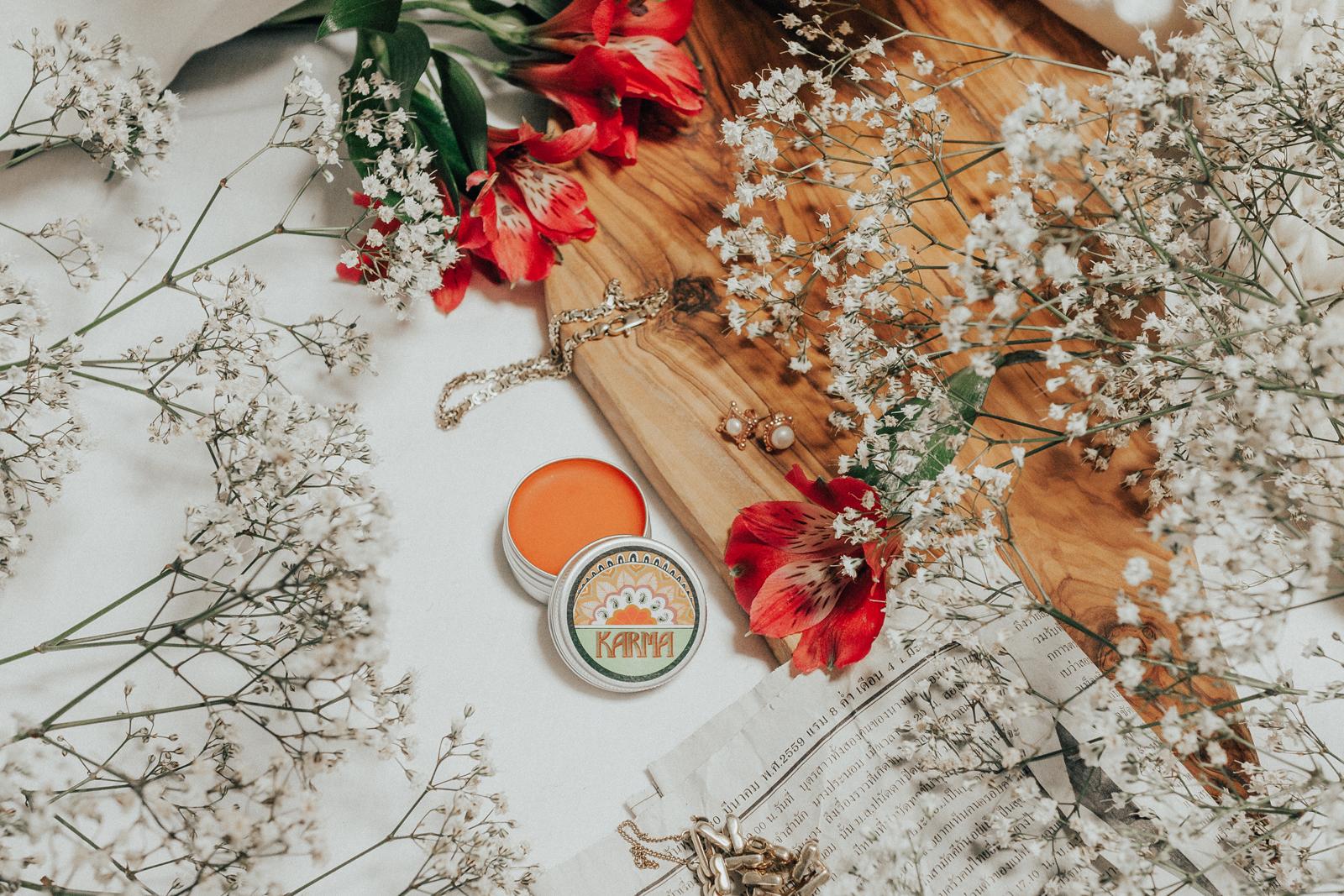 Lush Karma Solid Parfum vegan