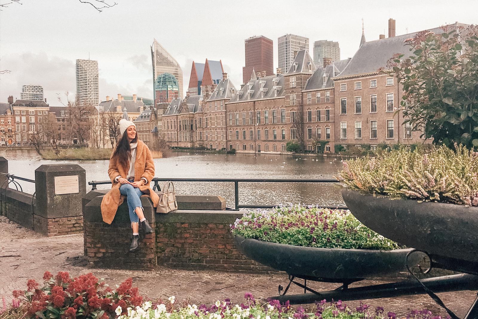 Den Haag centrum Binnenhof Hofvijver