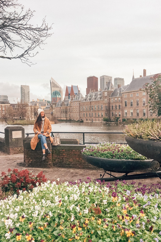 Den Haag Hofvijver binnenstad