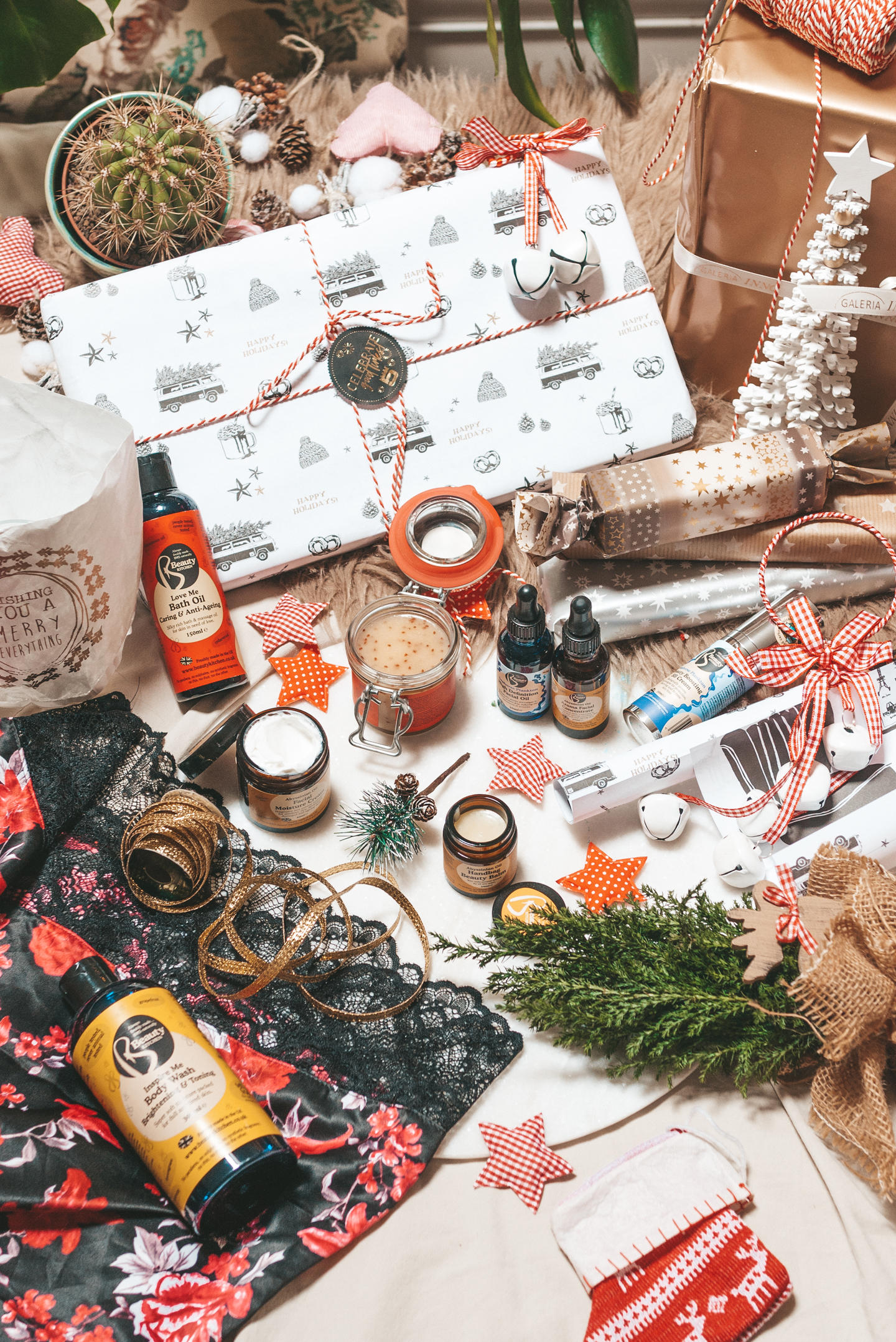 Last minute christmas gifts beauty kitchen